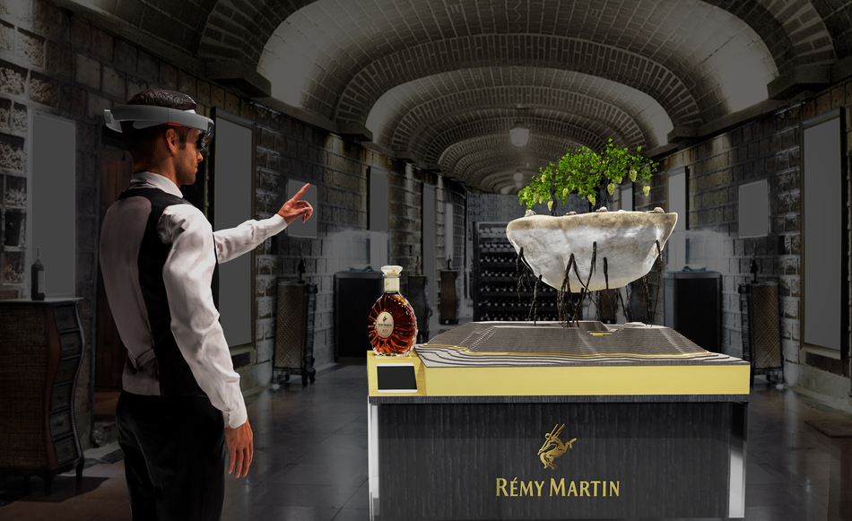 """Rémy Martin """"Rooted In Exception"""" HoloLens Experience"""
