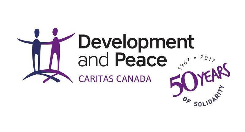 Logo: Development and Peace - Caritas Canada (CNW Group/Development and Peace)