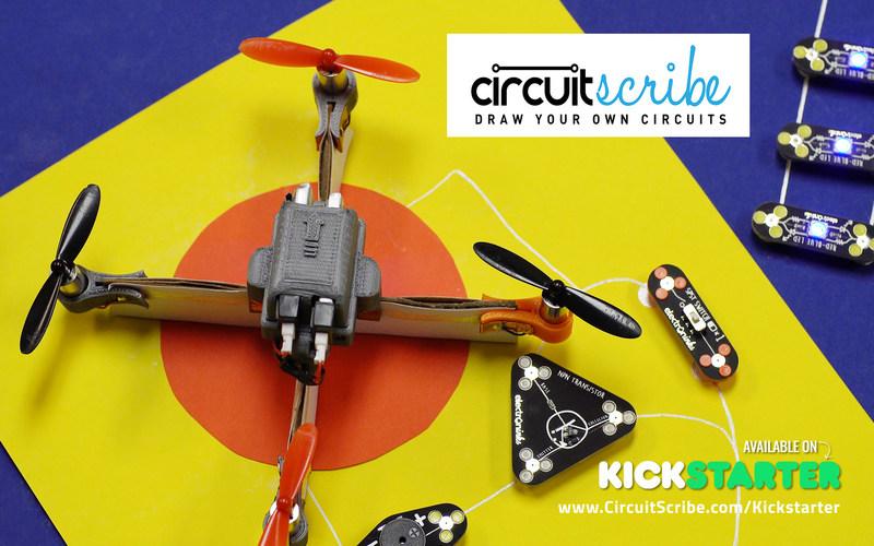 Circuit Scribe - DIY Drone
