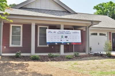 Carrington Charitable Foundation (CCF) welcomes family of wounded U.S. Army Veteran Master Sgt. David Glenn to their new, custom adaptive home built through the CCF's signature program, Carrington House.