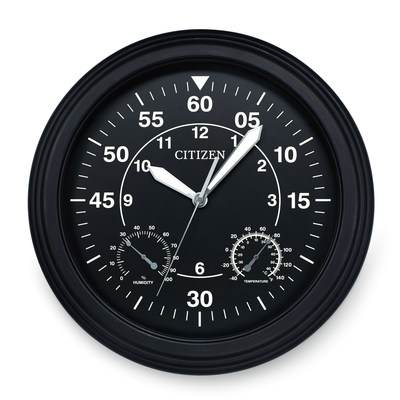 CITIZEN Outdoor and Gallery Clocks, visually appealing designs for any space in your home.