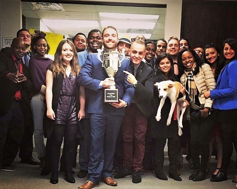Sales and marketing firm Richard Allen, Inc. wins Campaign Cup for superb work in the first quarter of 2017. This is their fourth consecutive win.