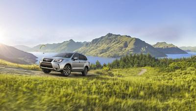 2018 Subaru Forester (CNW Group/Subaru Canada Inc.)