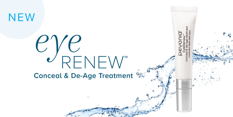 Coming Soon…Pevonia's NEW EyeRenew™ Conceal & De-Age Treatment!