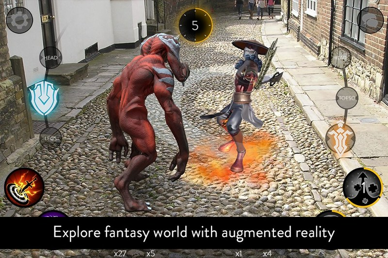 The First in the World Mobile RPG with an Augmented Reality and Global Positioning System has Appeared in the New Zealand AppStore