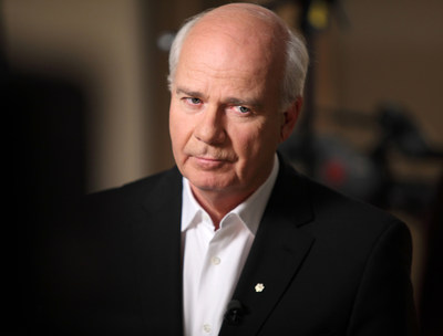 Peter Mansbridge, host of The National and chief correspondent of CBC News, will be among the presenters at the CJF Awards in Toronto on June 8. (CNW Group/Canadian Journalism Foundation)