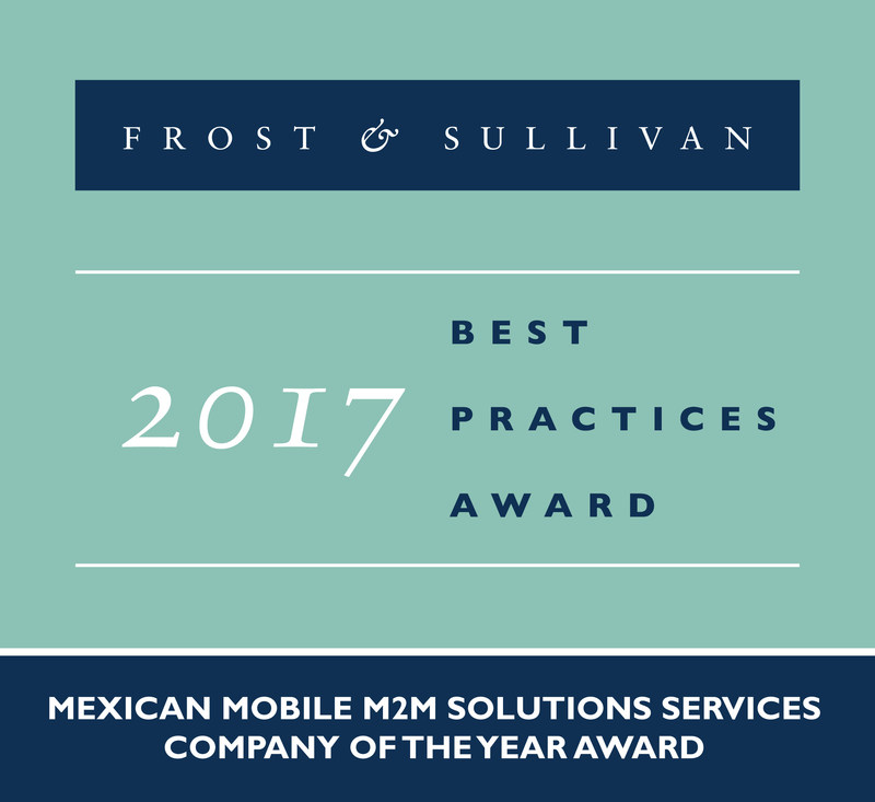 Telefónica Mexico Receives the 2017 Mexican Mobile M2M Solutions Services Company of the Year Award
