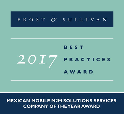 Frost & Sullivan Lauds Telefónica México for Emerging a Top Player in the Mexican Mobile M2M Solutions Industry with its Best-in-Class Differentiators, Coverage, and Portfolio