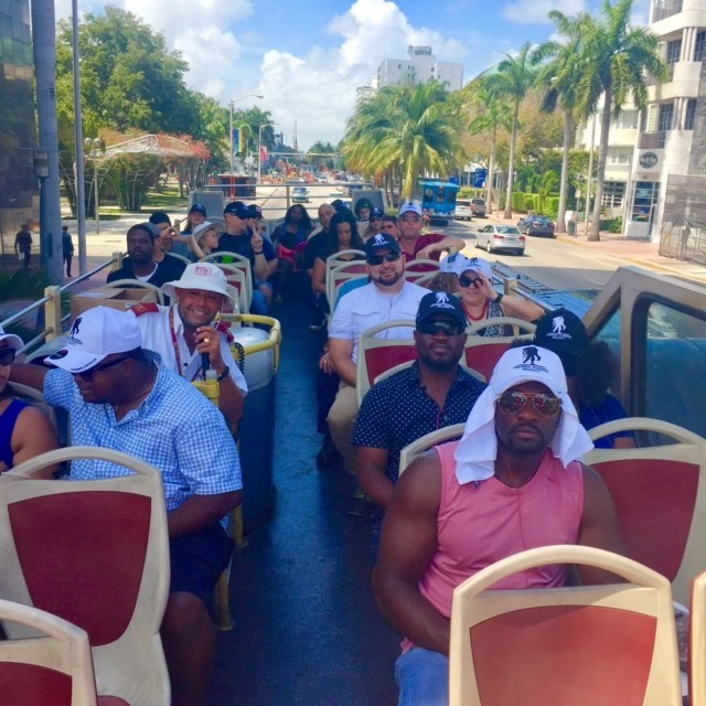 """""""We saw Miami like we haven't seen before,"""" said Luis Garzon, an Army Reserve veteran. Luis joined other veterans on a recent Wounded Warrior Project bus tour of South Florida."""