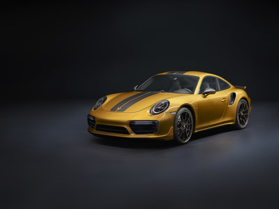 Porsche 911 Turbo S Exclusive Series : 607 ch sous le capot !