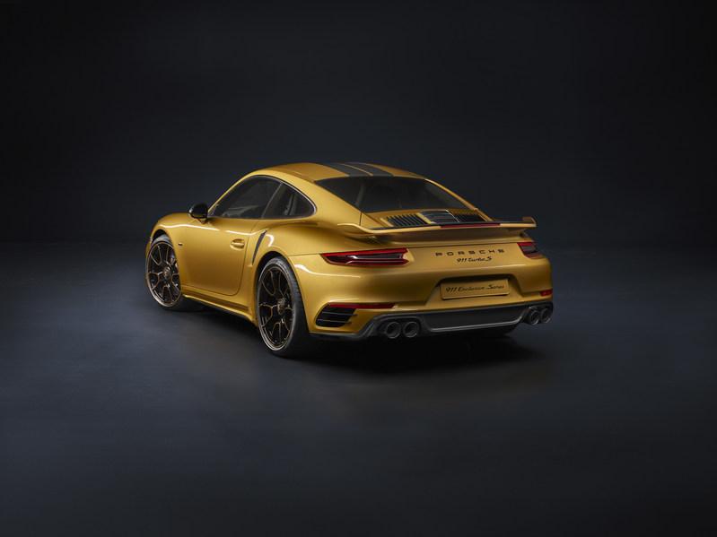 Porsche 911 Turbo S Exclusive Series (CNW Group/Porsche Cars Canada)