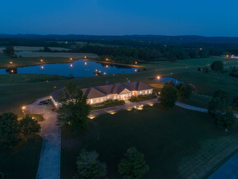 AUCTION: Luxury Home on 170± acres with Private Licensed Airport Selling at or above $995,000 (last asking price $1.9 million) on June 24th at 10:00 am.