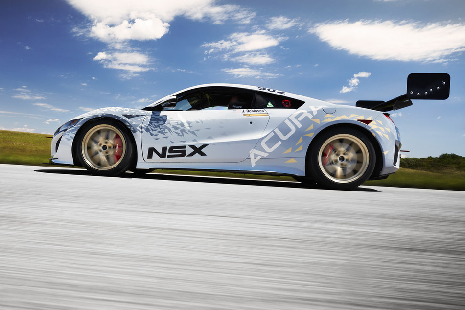 The production-based NSX with GT3-inspired modifications will compete in the Time Attack 1 class.
