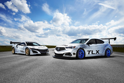 Acura NSX and TLX to race up Pikes Peak.