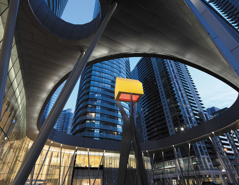 Major Public Art Installations Unveiled at ÏCE Condominiums (CNW Group/Cadillac Fairview Corporation Limited)