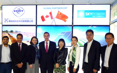 China Huayang Group Selects SkyPower as Its Global Partner to Develop Solar Energy Projects Around the World