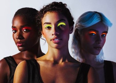 3INA UV Collection Campaign. Photographer Mehdi Lacoste; make up by Anne Sophie Costa; hair by Johnnie Biles (PRNewsfoto/3INA)