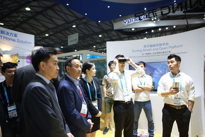 Suning Showcasing its AR/VR Technologies
