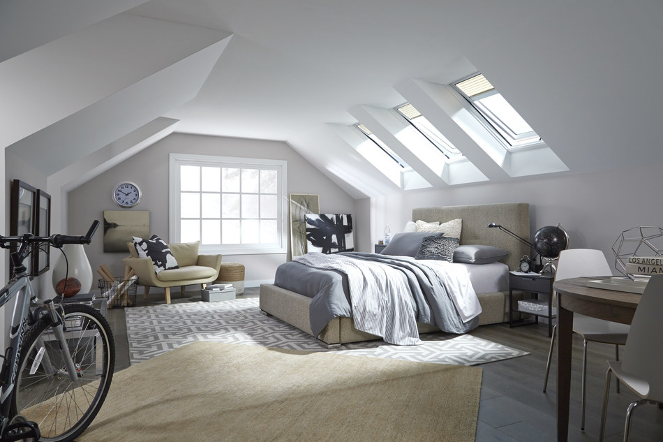 Harness the sun with VELUX Energy Performance Model skylights