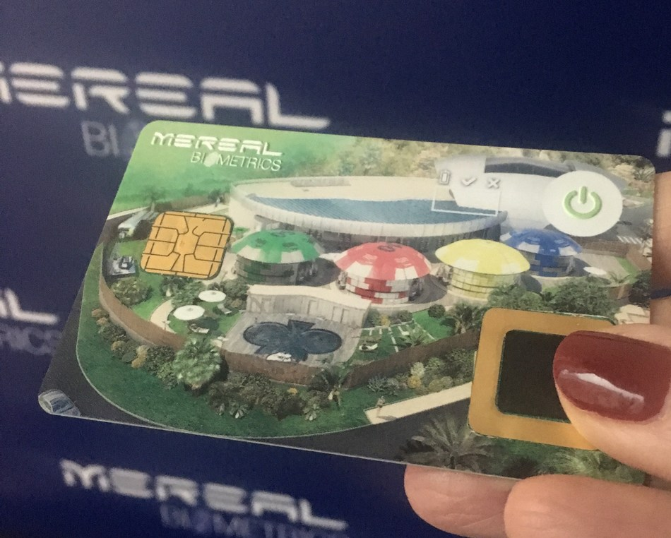 New Secure Biometrics Card V2 Unveiled in the World's First Open Air Casino (PRNewsfoto/MeReal BioMetrics Ltd)