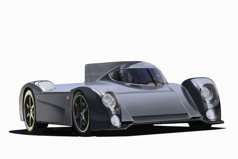 Green4U Technologies, Inc. also revealed renderings of its proposed street-legal sports car based on the all-electric GT-EV race car concept. Conceptualized by renowned car designer Peter Stevens, who has contributed to the design of many vehicles such as the Panoz Esperante GTR-1, the design features a unique two-passenger, jet fighter-style passenger compartment where the passenger sits behind the driver.