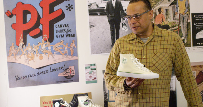 Brand Historian Alyasha Owerka Moore speaks to the heritage of the new All American Hi.