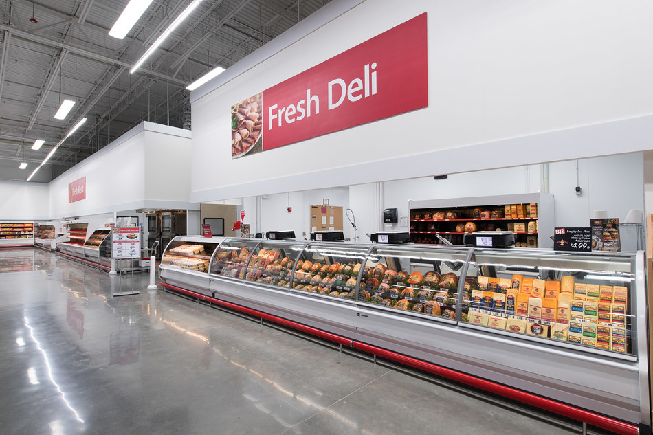 The fresh deli at the new BJ's Wholesale Club in Summerville, SC.
