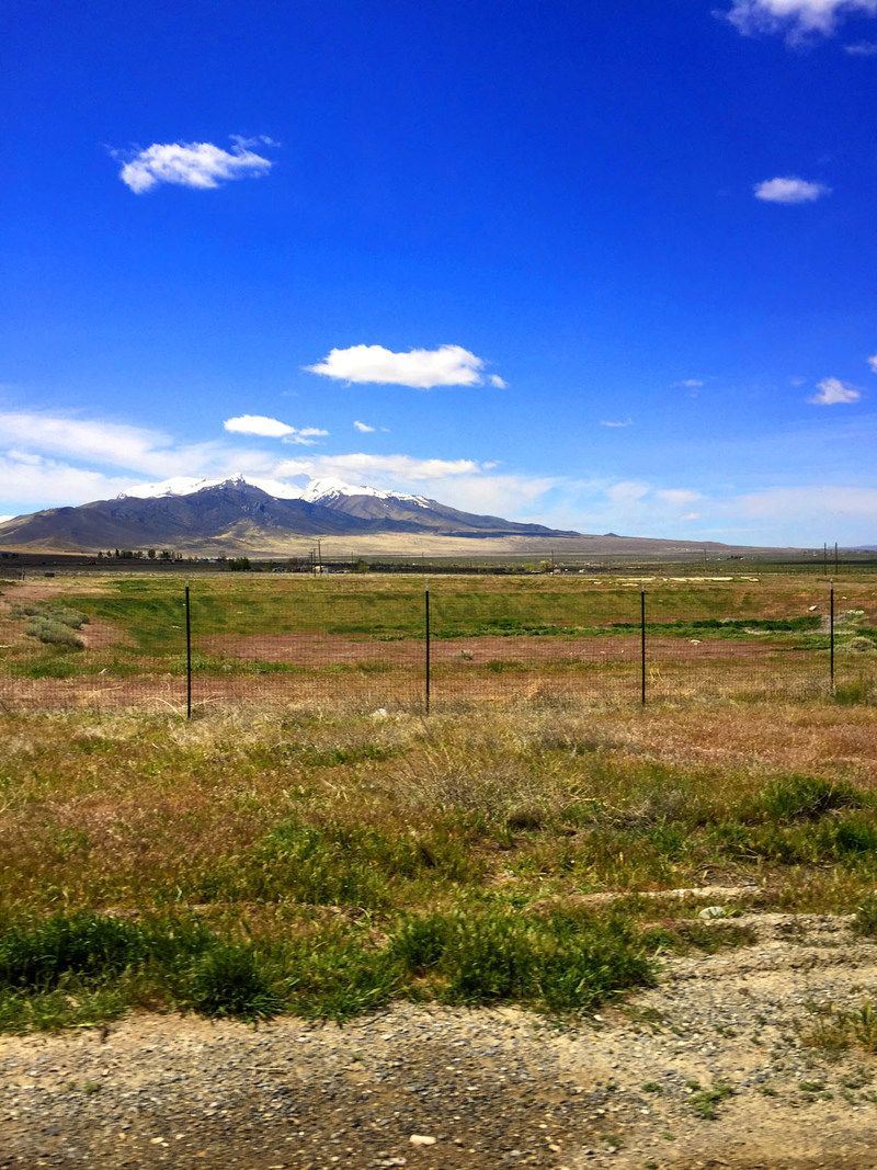 View of Star Peak from Imlay, Nevada. Just southwest of Winnemucca.