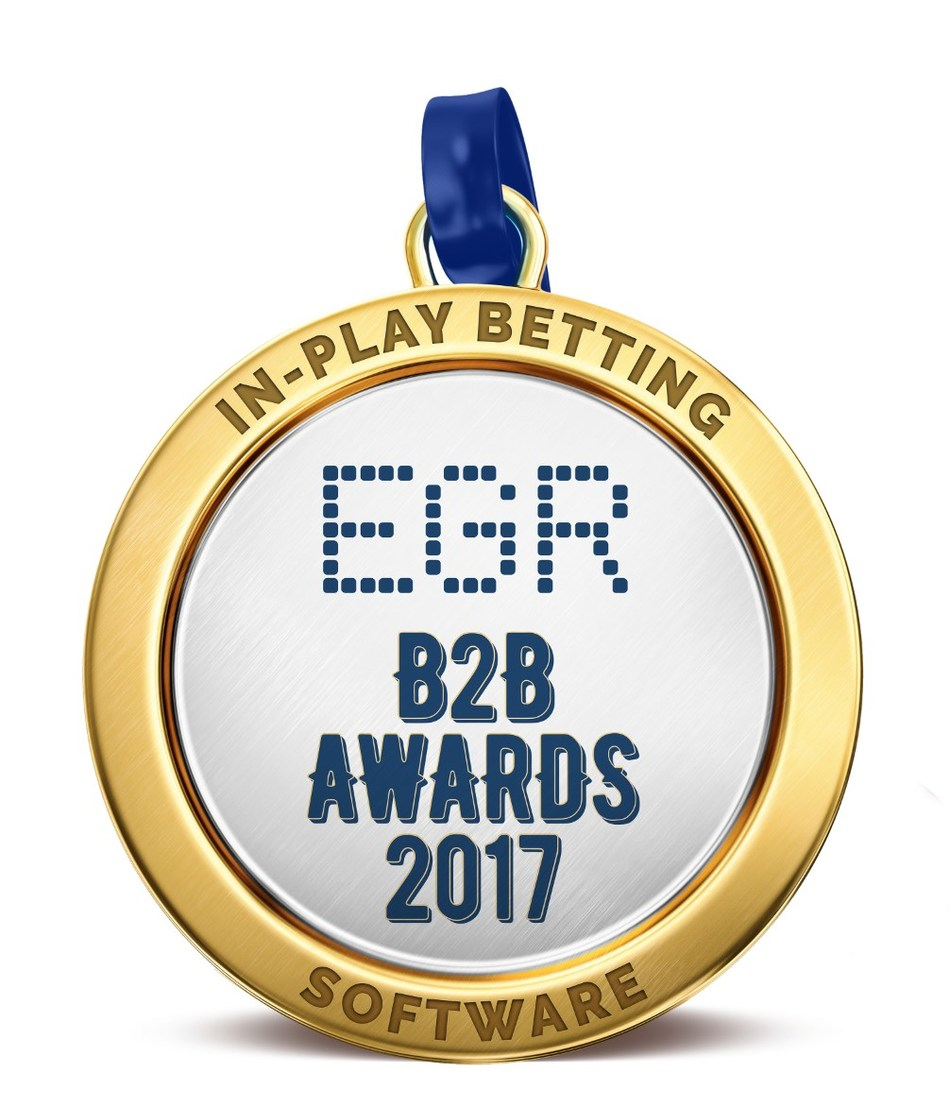 SBTech Wins EGR In-Play Sports Betting Award 2017 (PRNewsfoto/SBTech)