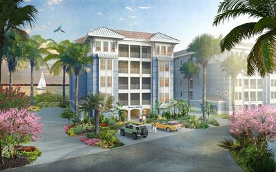 Located adjacent to the marina, the One Particular Harbour luxurious waterfront condominiums all feature spectacular views of Anna Maria Sound or Harbour Isle lagoon. Priced from the high $400s. Renderings by The McBride Company.