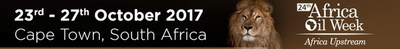 24th Annual Africa Oil Week 2017 – the mainstay event for Africa's oil and gas industry (PRNewsfoto/ITE Group)