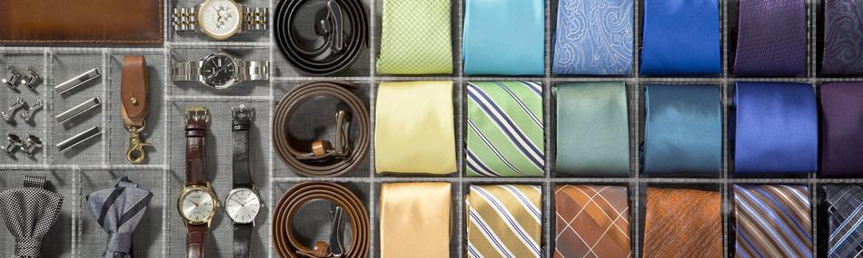 Practically perfect customer-design men's accessory organizer
