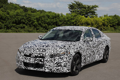 All-New 10th Generation Honda Accord Launching This Year with Advanced New Powertrain Lineup