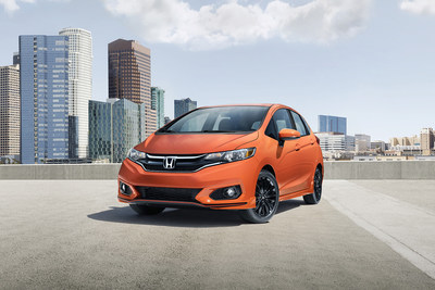 Honda Fits entry-level model with new styling and safety features