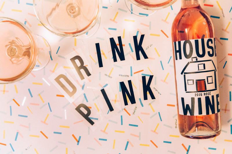 House Wine Rosé to be new seasonal summer wine offering on Alaska Airlines flights
