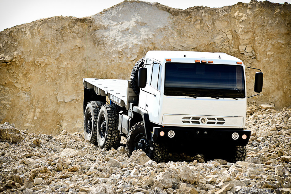 When it comes to the toughest jobs in the harshest environments, nothing is more capable than the Monterra extreme-duty line of trucks.