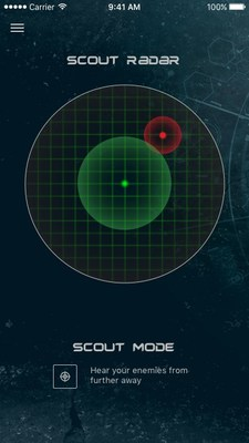 Scout Radar Display on Mobile Device