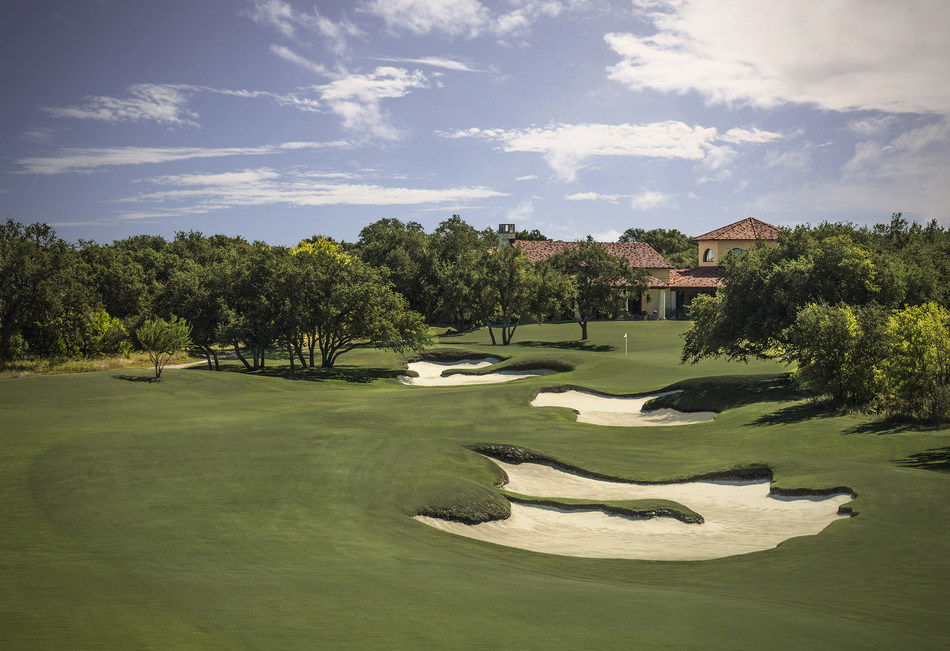 Briggs Ranch Golf Club in San Antonio, Texas includes an 18-acre practice facility, a nationally ranked Tom Fazio-designed course, and a full-service clubhouse.