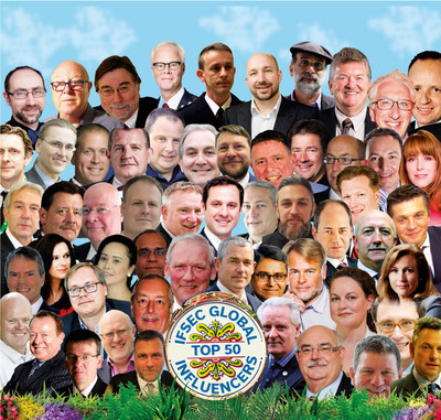 IFSEC Global Top 50 Influencers (PRNewsfoto/UBM EMEA)