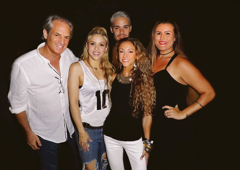 Shakira and The Temple House management team