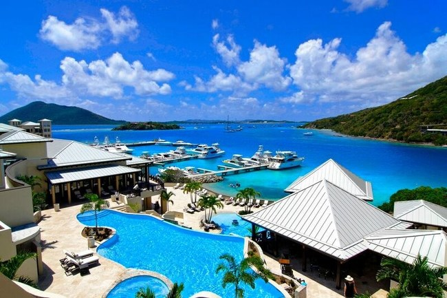 Enter for a chance to win the Lands' End Best of the Beach Sweeps to the British Virgin Islands. One lucky winner will receive roundtrip airfare for two, 8-day and 7-night accommodations at the beautiful Scrub Island Resort, valued in total at $6,600. Enter now through June 15, 2017, for a chance to win at www.landsend.com/beachsweeps or via the tab at Facebook.com/landsend.