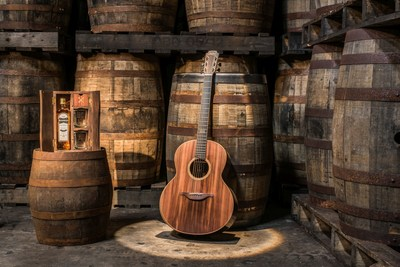 The Bushmills x Lowden Limited Edition Guitar (PRNewsfoto/The Bushmills)