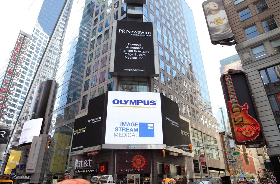 Olympus Corporation of the Americas and Image Stream Medical, Inc. announce MedPresence™, the medical industry's first enterprise virtual presence solution. (PRNewsfoto/Olympus Corporation of the Amer)