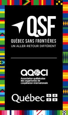 Logo : Québec sans frontières (Groupe CNW/Cabinet de la ministre des Relations internationales et de la Francophonie)