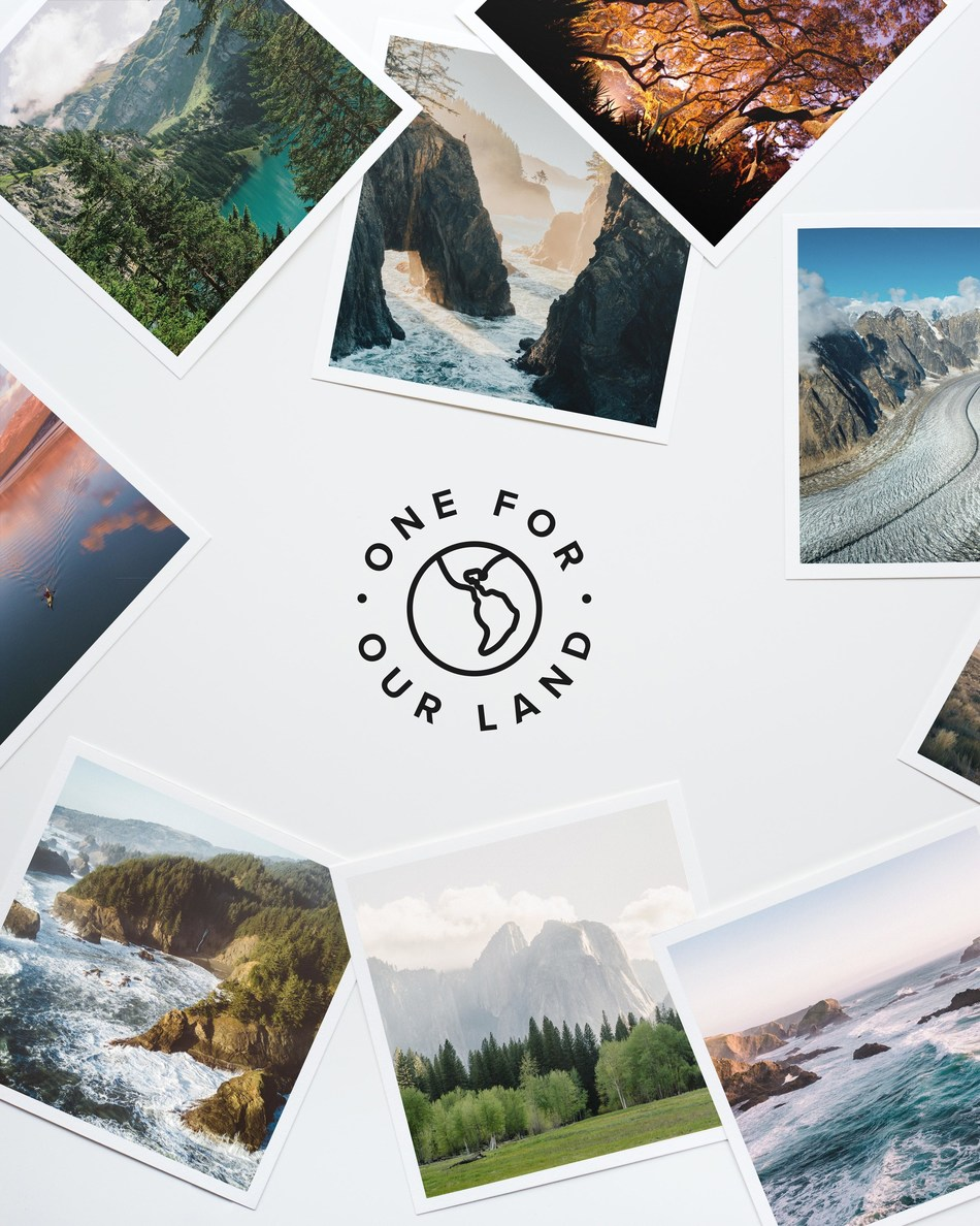 "Colorado-based startup Artifact Uprising launches ""One for Our Land"" campaign with with 100% of proceeds benefiting the non-profit organization, 1% for the Planet."