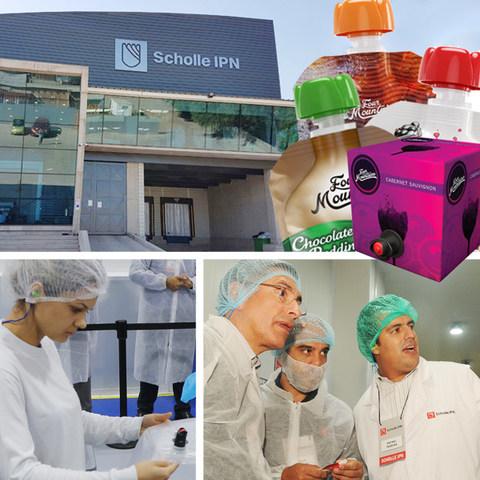 Scholle IPN expande seus negócios de fabricação de embalagens flexíveis com uma nova fábrica em Santiago, Chile.
