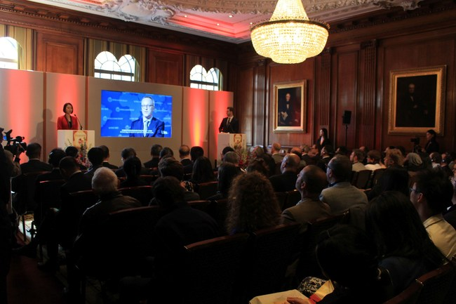 2017 China UK film and TV conference launch ceremony in London.