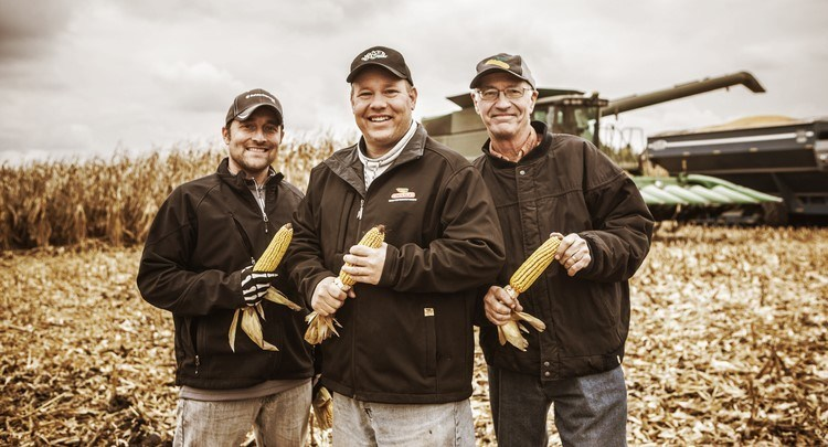 Great whiskey starts with great corn. Great corn definitely starts with Illinois farmers. Two local families including (left to right) Nick Nagele and Jamie and Jim Walter are crafting homegrown Illinois corn into some of the finest spirits available. A new 360 video tour shows the seed-to-spirit process from start to finish.