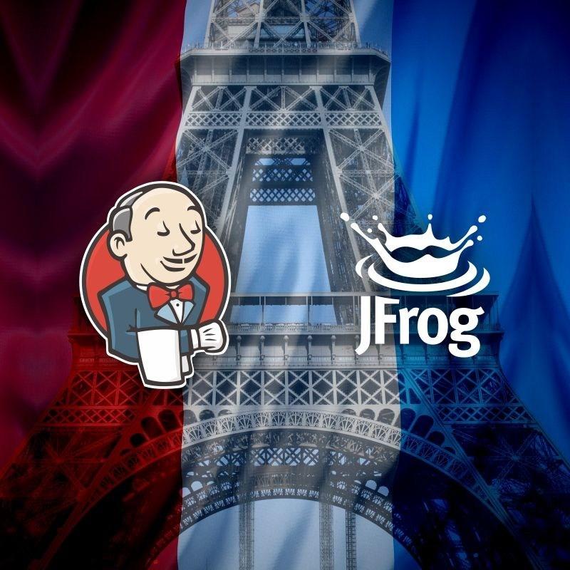 """Participez au premier """"Jenkins Community Day"""" organisé par JFrog a Paris ! (PRNewsfoto/JFrog)"""