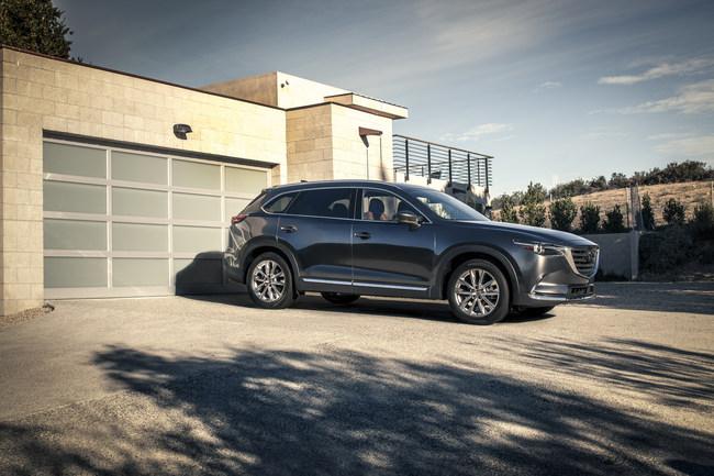 2017 Mazda CX-9 Earns IIHS Top Safety Pick+ Rating